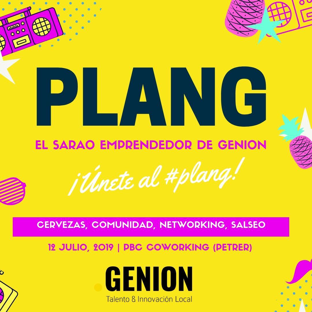 #PLANG. EL SARAO EMPRENDEDOR DE GENION